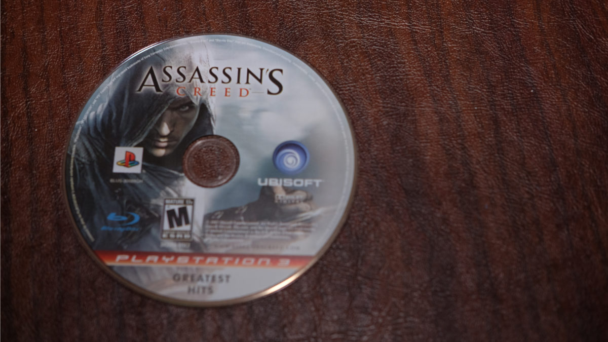 Assassin's Creed PS3 disc