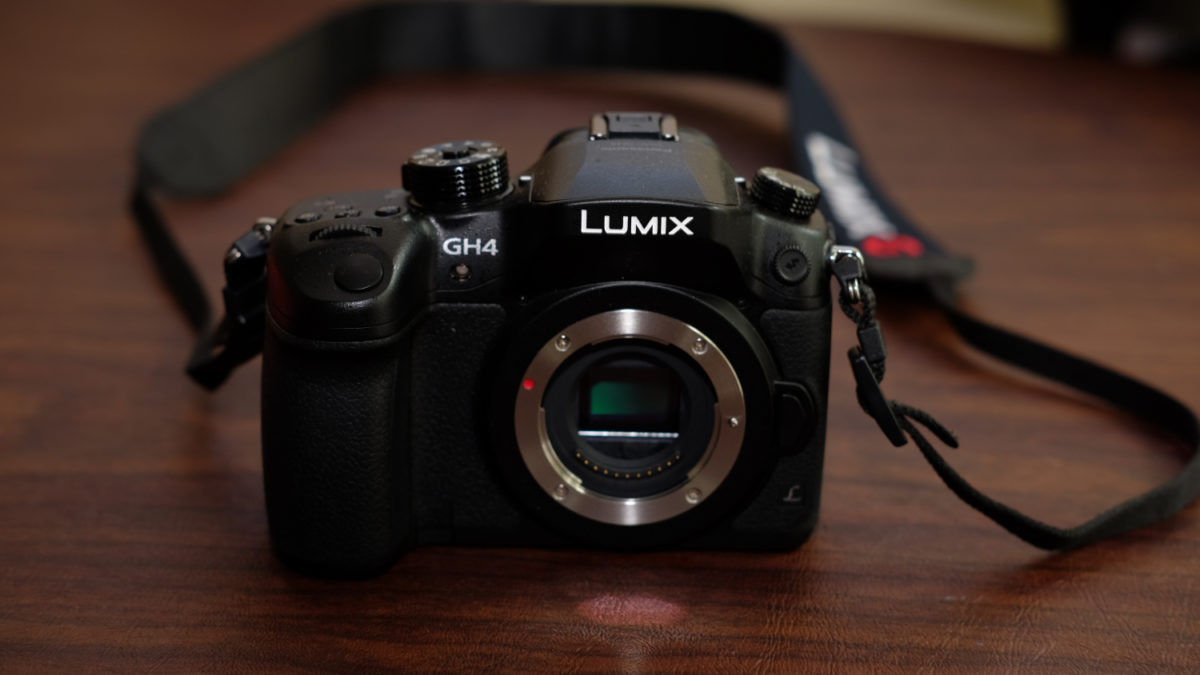 Panasonic GH4 Lumix camera body