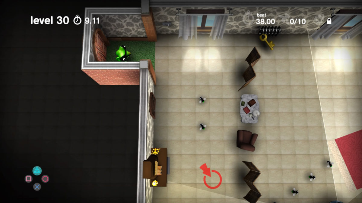 Spy Chameleon video game screenshot of gameplay